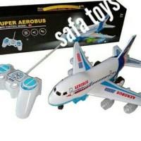 Mainan anak pesawat Remot Control Aerobus