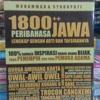 1800 ++ Peribahasa Jawa Lengkap Dengan Artinya