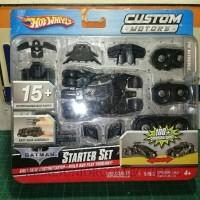 Hot Wheels Custom Motors Starter Set Batman Batmobile Tumbler