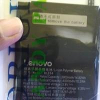 Batere Batre Batrai Lenovo BL-234 P70 A5000 P90 Vibe P1M P70T Original