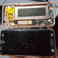 LCD samsung S7 EDGE Normal ORI tinggal pasang glass