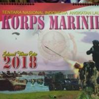 Kalender Korps Marinir TNI AL tahun 2018 terbaru