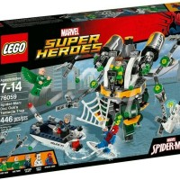 Lego Superheroes 76059 Spiderman Doc Oct Tentacle Trap