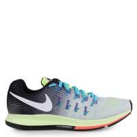 Sepatu Original Nike Air Zoom Pegasus 33 - Pure Platinum/Black Volt
