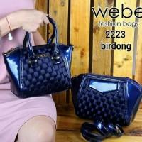 Tas wanita handbag Webe Fashion Bags 2in1 2223 beli 1 dapat 2