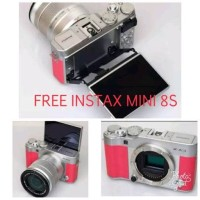 MURAH KAMERA CAMERA FUJIFILM X A3 PINK FREE INSTAX 8S DAN MEMORY 16 GB