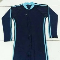 Baju Renang Diving Polos Lengan Panjang Anak Usia SD UNISEX