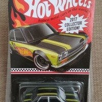 hotwheels datsun 510 Collector Edition 2017