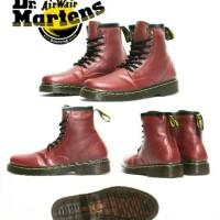 Jual SALEE! sepatu dr.martens docmart boot pria murah keren sekolah kampus Murah