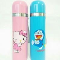 BRG-17000586 Thermos /Botol termos karakter doraemon/hello kitty 500ml