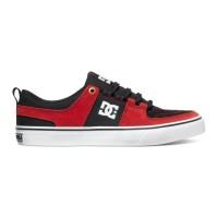 Sepatu Skate DC Shoes Original Lynx Vulc Red Black White