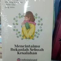 BUKU NOVEL MENCINTAIMU BUKANLAH SEBUAH KESALAHAN, TRANSMEDIA Original