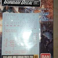 Gundam Decal Wing Proto zero
