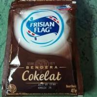 susu frisian flag coklat 40g per dus isi 20 pak