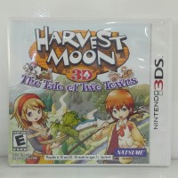 HARVEST MOON 3D THE TALE OF TWO TOWNS 3DS SEKEN