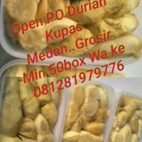 Jual Durian Kupas medan @ Gudang Durian Murah