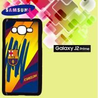 Casing Hardcase HP Samsung J2 Prime great fc barcelona logo Custom Cas