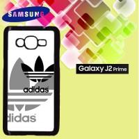 Casing Hardcase HP Samsung J2 Prime adidas whit black Custom Case