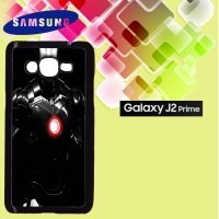 Casing Hardcase HP Samsung J2 Prime ironman black armour Custom Case