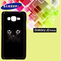 Casing Hardcase HP Samsung J2 Prime black cat Custom Case