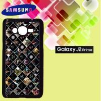 Casing Hardcase HP Samsung J2 Prime Avengers Marvel Pattern Custom Cas