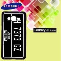 Casing Hardcase HP Samsung J2 Prime jeep Plat Custom Case