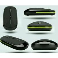 Jual [Buy 1 Get 1] Mouse Ultra Slim Usb Wireless for Compute Berkualitas Murah