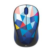 Harga logitech m238 wireless mouse blue pattern | Pembandingharga.com