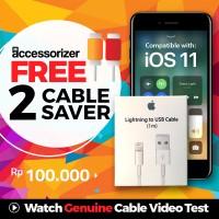 Jual 100% Original kabel charger data Iphone 6, Iphone 5, iphone 7 Murah
