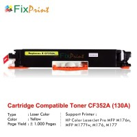 Compatible Toner Printer HP Laserjet M176 M177FW M551N CF352A Yellow