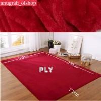 karpet bulu lembut /tikar uk 200x120x2cm