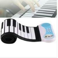 Piano Roll Up Silicon Fleksibel / Piano Gulung / Piano Portable 49 Key