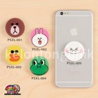 Jual LINE PopSockets / PopSocket/ Ring HP / Phone Holder/ Phone Stand Murah