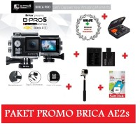 Paket Brica B-Pro5 Alpha Edition Mark IIs 4K Mark2s AE2s AEIIs markIIs