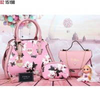 Tas Furla Flower Dolls 3 in 1 15198