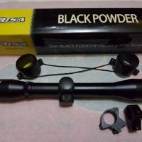 Jual Tele BSA 4x32 Black powder Diskon Murah
