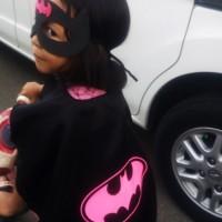 Jual BATGIRL   Topeng Jubah Kostum Superhero Haloween Ulang Tahun Murah