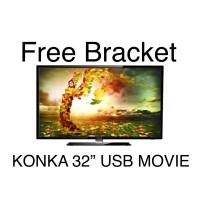 LED TV KONKA 32KK3000 32 inch USB Movie
