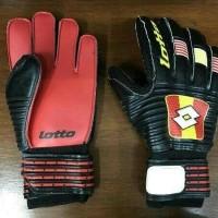 Harga promo sarung tangan kiper tulang lotto import   Pembandingharga.com