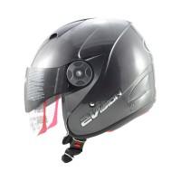 Helm KYT 2 Vision Half Face Solid