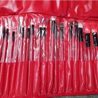harga Kuas Make Up 24 Pcs/ Make Up Brush 24pcs / Red Brush Tokopedia.com