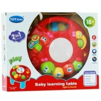 Mainan Edukasi Anak Bayi Toys Baby Learning Table Caterpil PALING MURH