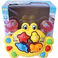 Mainan Anak Bayi - Crab Cartoon Funny Toys Music and Song HARGA PABRIK