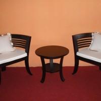 MURAH ! Kursi Teras Anggur Teras / Tamu / Makan Minimalis Ukiran Jati