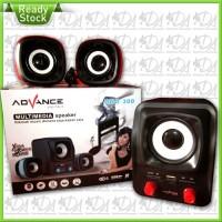 Speaker Power Bank ADVANCE DUO-300 + Bisa Buat Powerbank