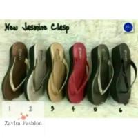 Terlaris! Jasmine Clasp Sandal Wanita New By Okada