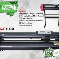 Mesin Cutting Sticker Jinka Xl 1351 Printer Pemotong Stiker