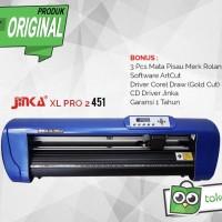 Mesin Cutting Sticker JINKA XL PRO 2 451 Printer Pemotong Stiker