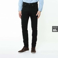 ORIGINAL Levis 510 Skinny Fit Original Black Rinse Stretch Jeans