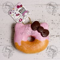 Jual Squishy Licensed Sanrio Hello Kitty Strawberry Donut frutty Original Murah